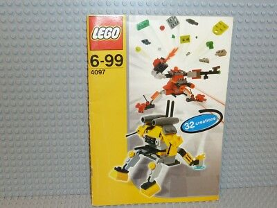 Designs Ideen-buch (LEGO® Bauanleitung Creator 4097 Designer Set  Ideen Buch instruction B87)