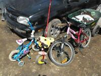 3 bikes to go asap first 50.00 firm.