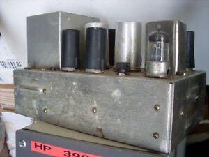 Amplificateur a lampes inconnu