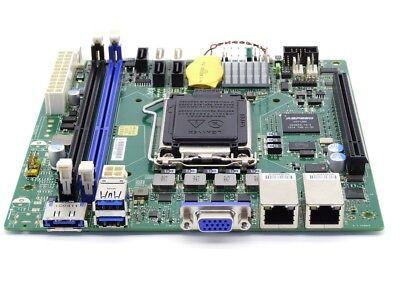 Msi Mini Itx (MSI mini-ITX mITX Server Motherboard Intel Haswell Xeon Socket 1150 PCI-E USB3.0)