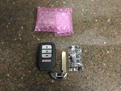 HONDA ACCORD smart key keyless entry remote fob 2013-2016 DRIVER 2 + BLANK KEY