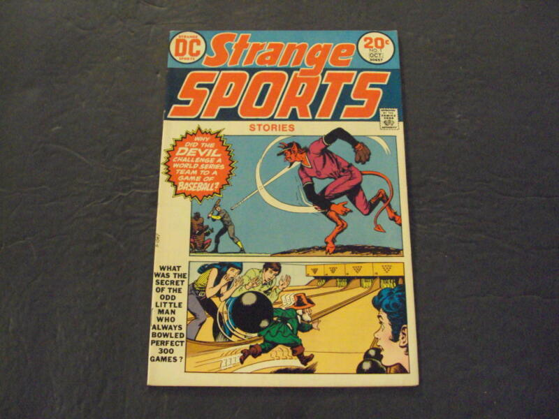 Strange Sports Stories #1 Oct 1973 Bronze Age DC Comics ID:46654