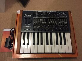 Arturia Minibrute (with custom wood sides)