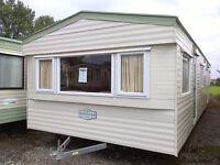 Static caravan 35 x 12 ft / 3 bedrooms with electric heating, Delta Nordstar
