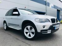 2007 57 BMW X5 3.0d SE in Silver - 7 Seater - Pan Roof- Leather - Nav - Xenons - FSH
