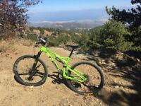 Whyte T129 S 29er Mountain Bike 2015 Green/Black (SCR Conversion)