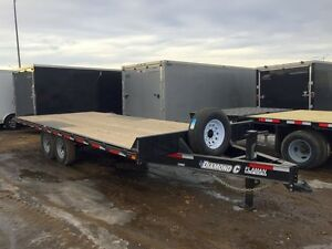 2016 Diamond C 13DEC Industrial Flatdeck Trailer