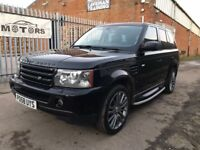 R/ROVER SPORT 2.7 TDV6 HSE AUTO LEATHER SAT NAV