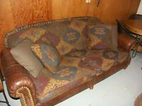 South West Style Couch & Chair