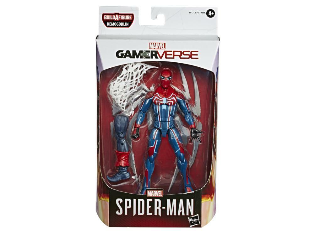 Marvel Legends Gamerverse SPIDER-MAN MK III 6in Figure BAF Demogoblin IN STOCK