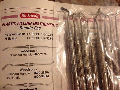 Hu-friedy Plastic Filling De Woodson 2 Lot Of 40 Retail 31.49 Each
