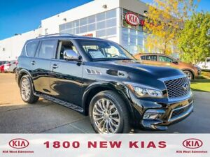2016 Infiniti QX80 Limited 7 Passenger Carfax Clean, Safety C...