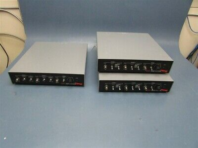 Lot Of 3 Used Rapid Systems R2000 R1200 Digital Oscilloscopes