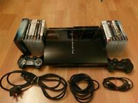 PlayStation 3 80gb with 15 games