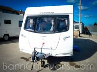 (Ref: 873) 2013 Model Lunar Cosmos 534 4 Berth Free Awning And Motor Mover