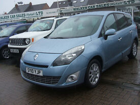RENAULT GRAND SCENIC PRIVILEGE TOMTOM DCI 7 SEATS (blue) 2010
