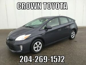 2012 TOYOTA PRIUS HYBRID! ONE OWNER, LOCAL TRADE IN @ CROWN TOY