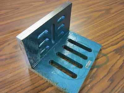 Slotted Angle Plate Open End 12x9x8 High Tensil Cast Iron Accurate Ground--new