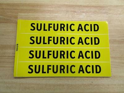 Lab Safety Supply 100121b Sulfuric Acid Sign