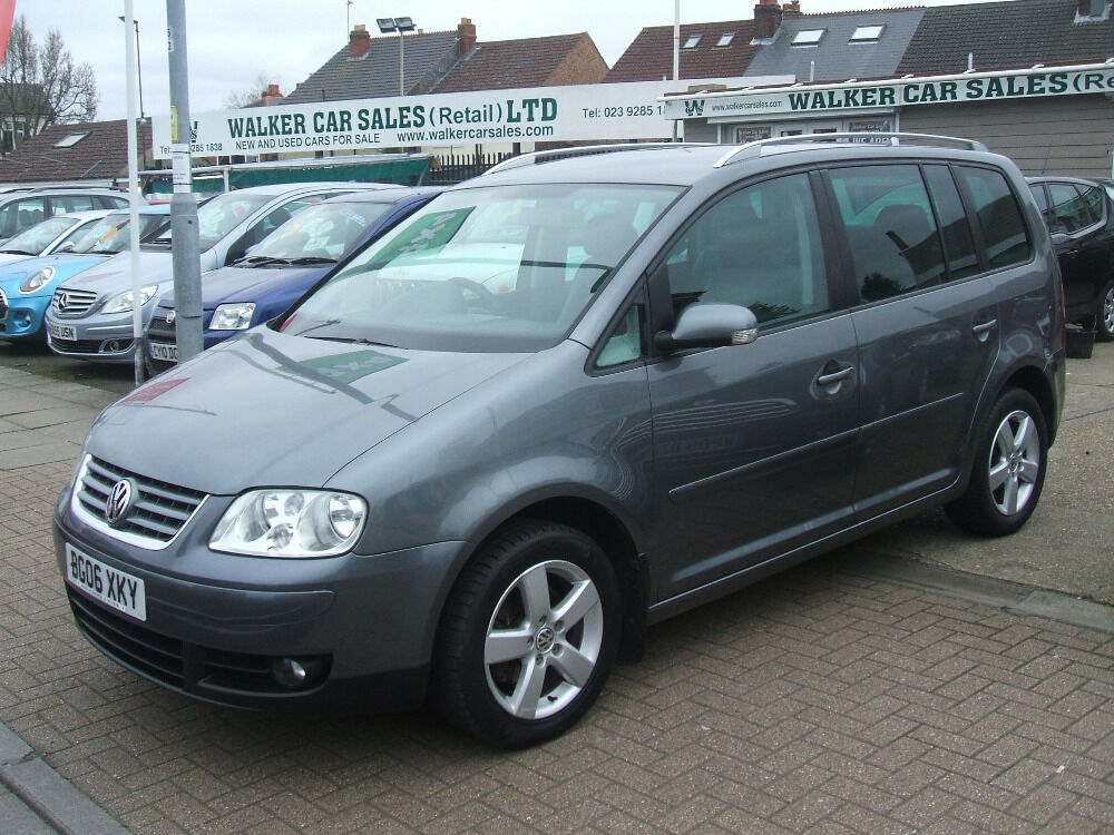 volkswagen touran sport tdi dsg 7 str grey 2006 in portsmouth hampshire gumtree. Black Bedroom Furniture Sets. Home Design Ideas