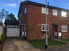 Wynterton close Ipswich,,Three bedroom end terrace with garage & parking