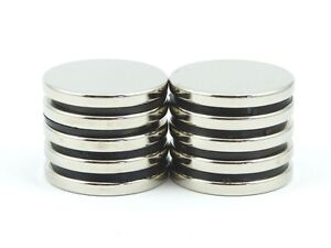 10 x NEODYMIUM DISC MAGNETS *AMAZING VALUE* 20MM x 3MM Rare Earth Magnets