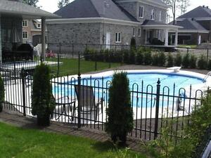 Cl ture frost maille cl ture piscine creus e cloture for Cloture piscine montreal