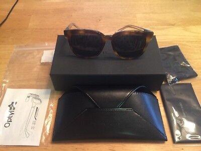 45c6f8ab6 BNIB DIOR HOMME Black Tie 52mm Sunglasses HAVANA CRYSTAL $310 AUTHENTIC