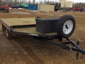 2008 Trailtech SM2-10 Flatdeck Snowmobile Trailer
