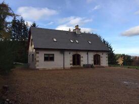 5 bedroom villa, Glenlivet £325k o/o