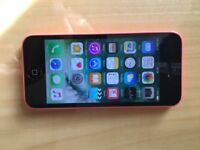 iPhone 5C Three network Pink Good condition