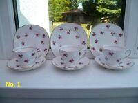 Vintage Tea Sets - Not Free - Various Prices