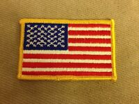ARIZONA BLUE LINE STATE FLAG ron On Embroidered Patch Police Law