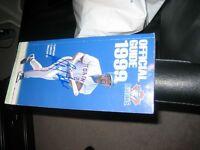 MLB Baseball CFL Football Books  Delgado Flutie Pinball Moon