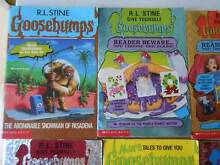 Goosebumps books by R.L. Stine 4 books for sale Greenbank Logan Area Preview