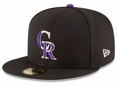 Colorado Rockies Hat (New Era Colorado Rockies GAME 59Fifty Fitted Hat (Black) MLB)