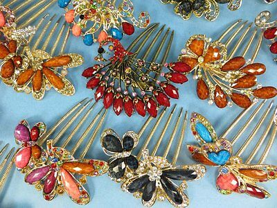 US Seller-lot of 10 wholesale Victorian Accessories for Women twist hair comb