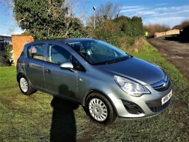 VAUXHALL CORSA 1.2S Full Service History, MOT Jan 2019, Drives perfect (silver) 2012