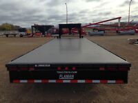 2014 Trailtech H-370-26' Industrial Flatdeck Trailer
