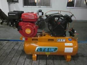 AIR COMPRESSOR 50 LTR NEW  PETROL ENGINE 5.5 HP  last 2 dont miss out