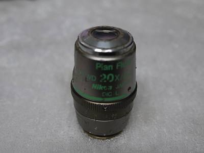 1pcs Used Work Nikon Plan Fluor Elwd 20x0.45 Dic L Objective Lens Equ3 Gy