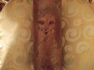 WOW !  VERY RARE  UNIQUE SCULPTED AND CARVED vase Cornwall Ontario image 3