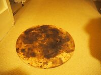 Pizza stone for bases in home oven. 38cm diameter
