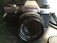 Olympus OM10 SLR Camera In Excellent Condition With ZUIKO 50mm Lens