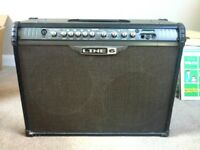 Guitar Amplifier: Line 6 Spider III, 150W (2x75W), stereo 2 x 12inch speakers