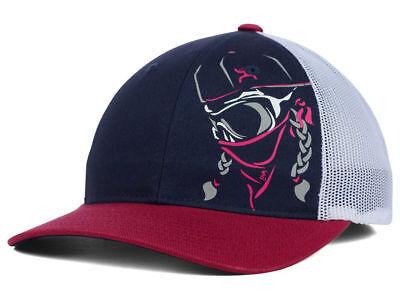 Hooey Bandita Navy Burgundy Pink Women's Trucker Snapback hat cap