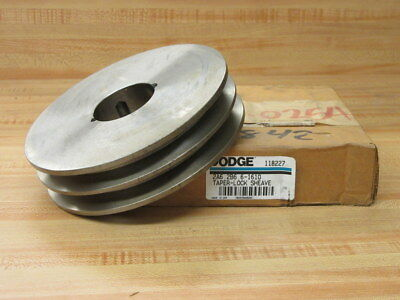 Dodge 118227 Taper Lock Sheave Pulley 2a6.2b6.6-1610