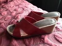 Comfort Plus Wedge Sandals - Size 8