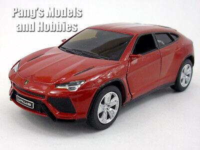 Lamborghini Urus 1 38 Scale Diecast Metal Model By Kinsmart   Burgundy