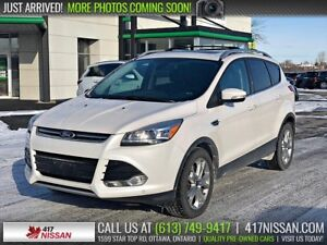 2014 Ford Escape Titanium | Navi, Pano Moonroof, Leather Htd Sea